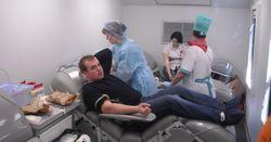 Передвижная станция переливания крови в контейнере – тренд года