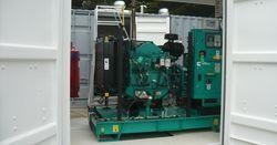 Контейнер — надежный кожух для электростанции и дизельного генератора