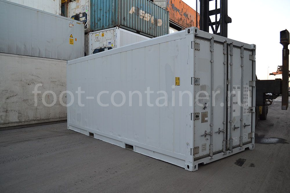 Рефконтейнер 20' RC Carrier 2003 двери
