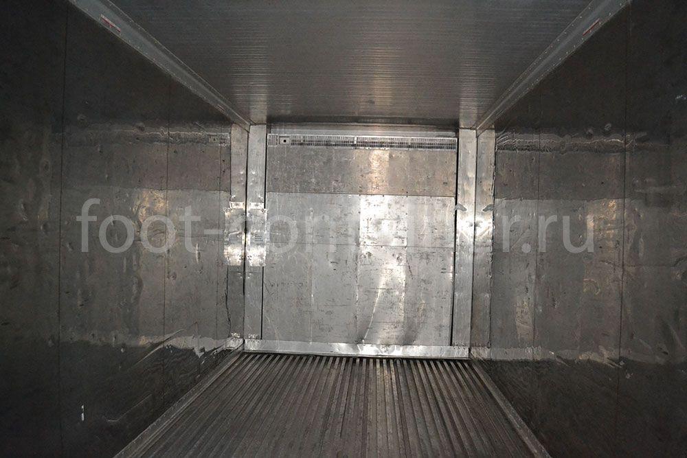 Рефконтейнер 20' RC Carrier 2003 внутри
