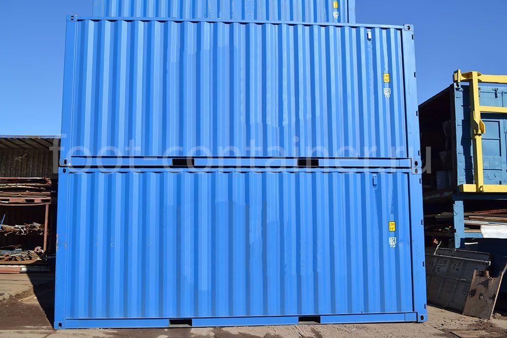 морской контейнер 20 футов новый вид сбоку 25G1 сбоку