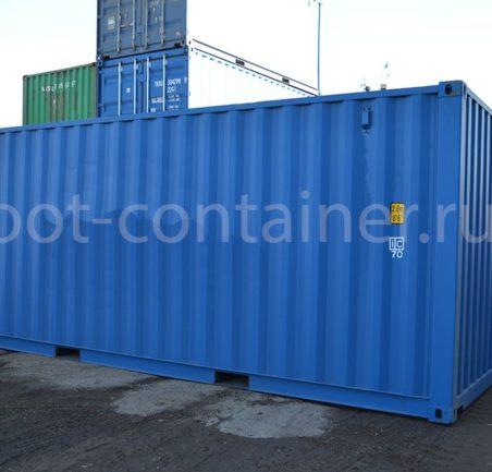 морской контейнер 20 футов новый синий