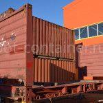 контейнер 20 футов flatrack