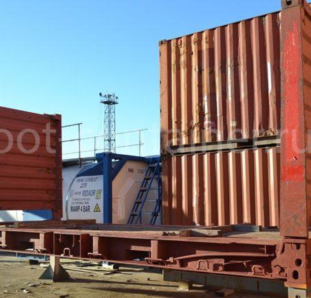 контейнер 20 футов flatrack бу