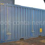 контейнер 20 футов hard open top двери сбоку