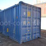 контейнер 20 футов hard open top двери