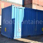 контейнер 20 футов hard open top сбоку