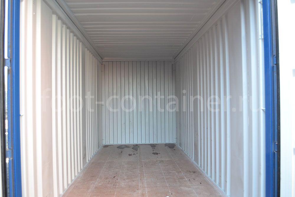 контейнер 20 футов hard open top внутри