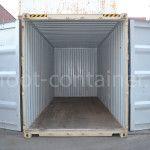 Новый контейнер 20 футов высокий 20′ HC двери открыты
