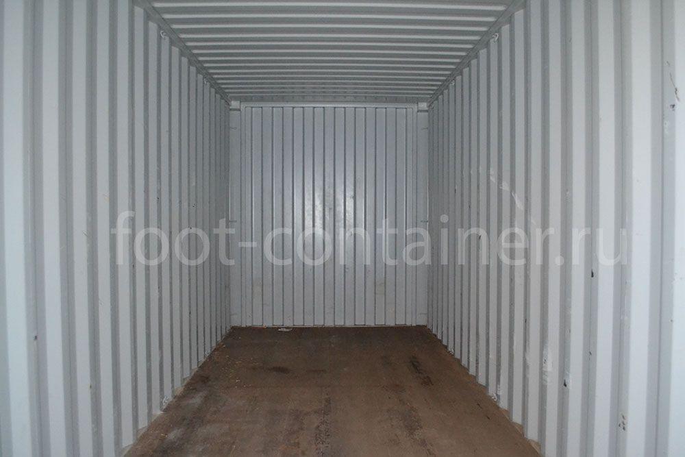 Новый контейнер 20 футов высокий 20′ HC внутри