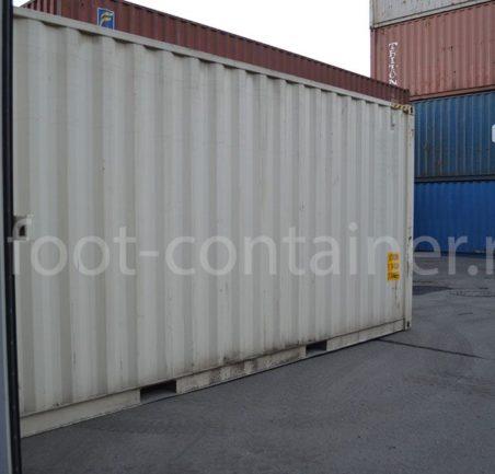 Новый контейнер 20 футов высокий 20′ HC сбоку