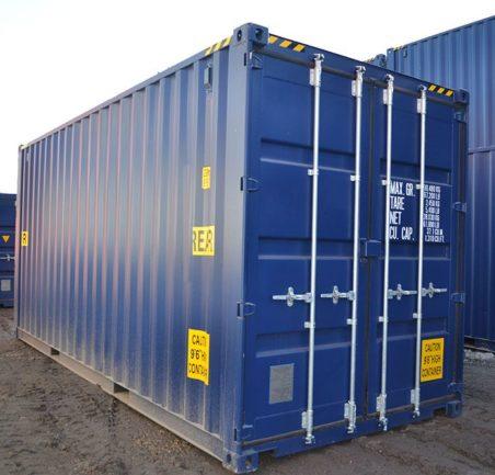 Новый контейнер 20 футов высокий даблдор