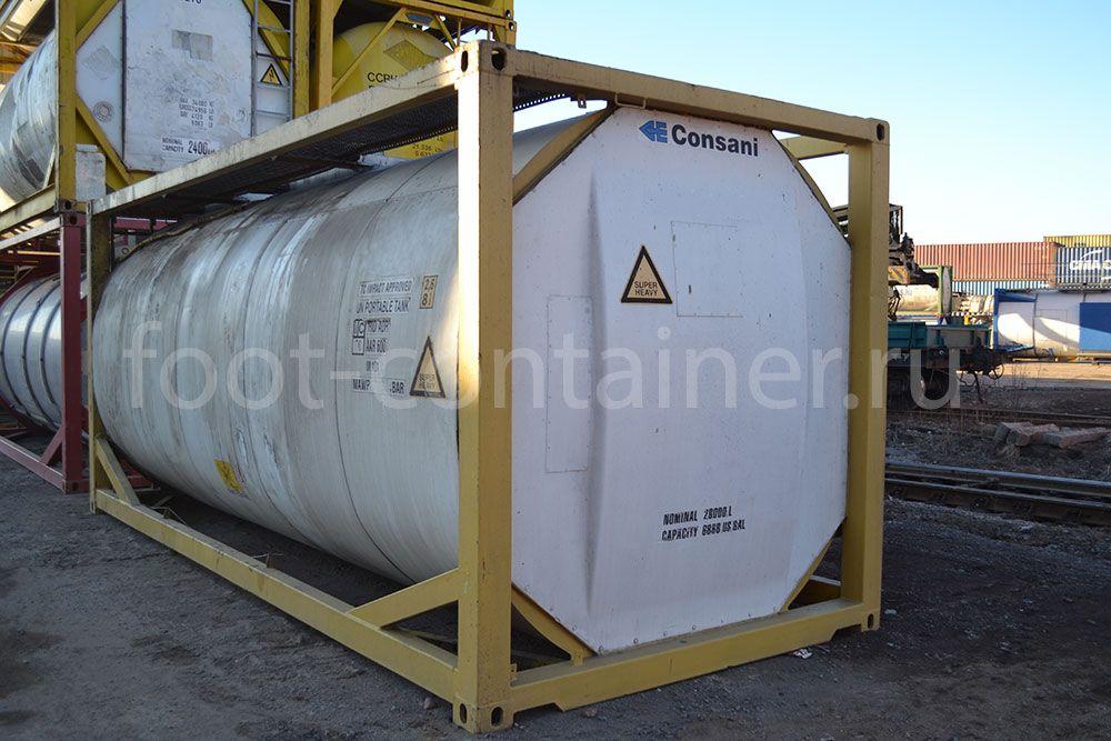 Контейнер 20' Tank Container б/у