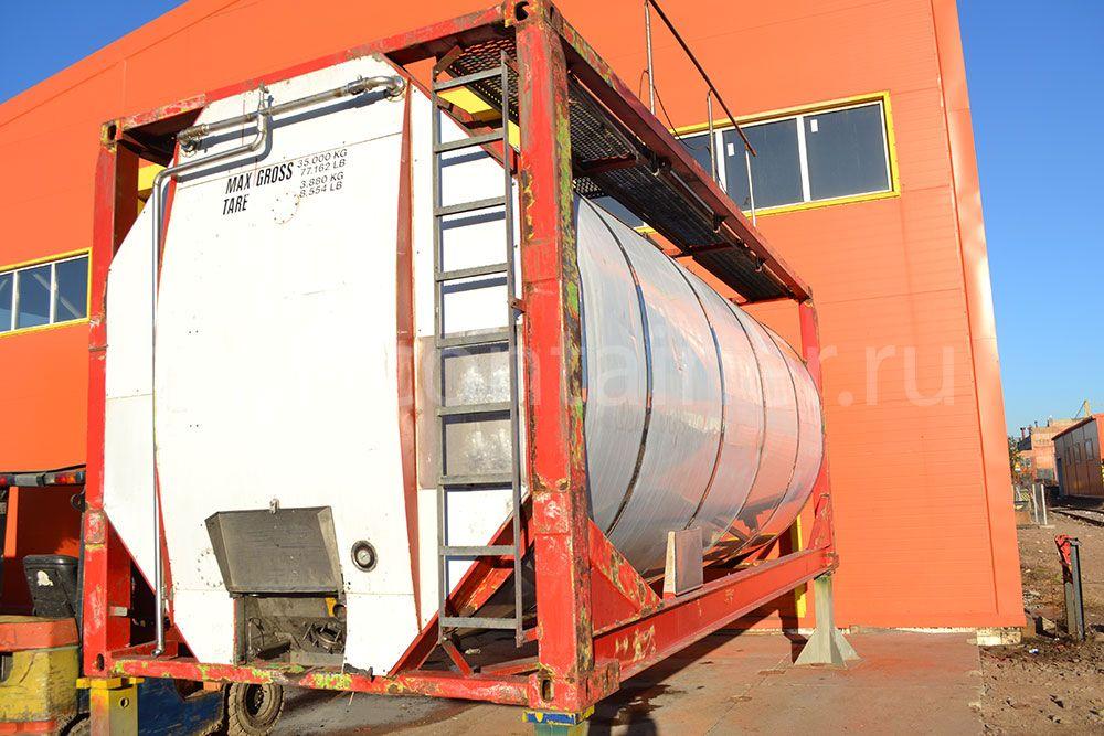 Контейнер 20' Tank Container б/у 35000 кг