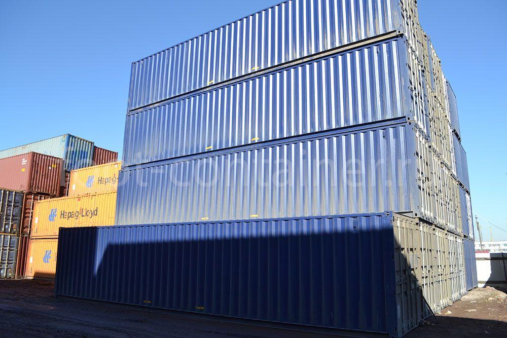 Морской контейнер 40 футов новый