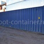 Морской контейнер 40 футов новый сбоку