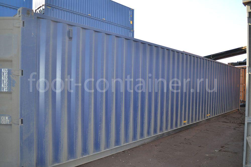 Морской контейнер 40 футов новый бок