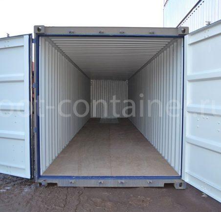 Морской контейнер 40 футов новый двери открыты