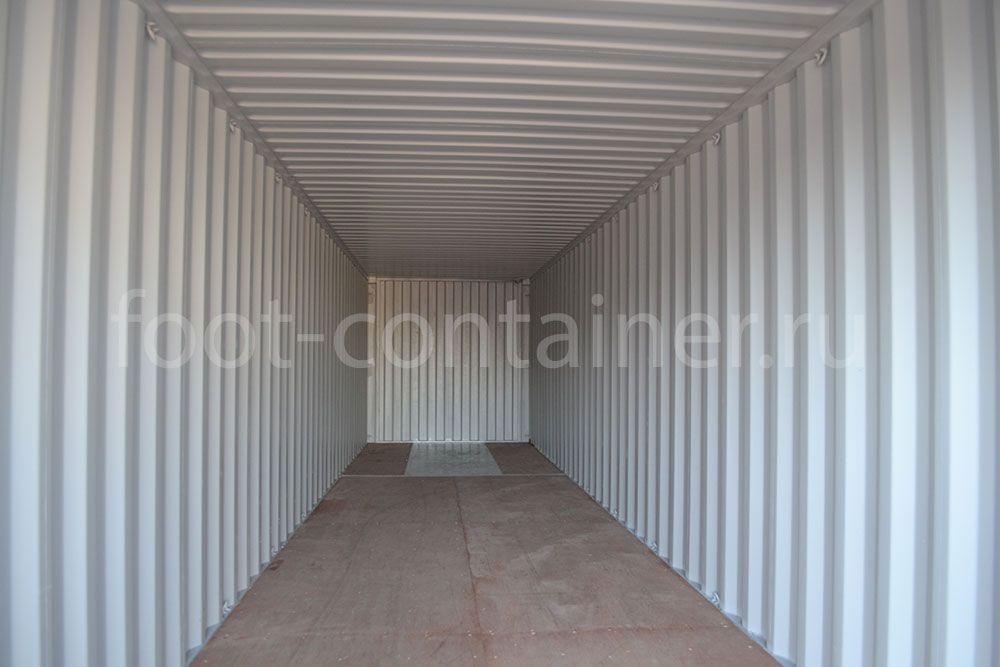 Морской контейнер 40 футов новый внутри