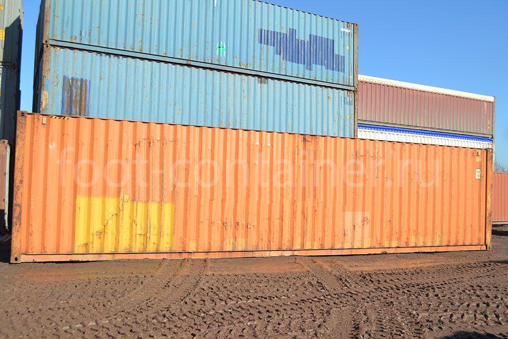 Морской контейнер 40 футов бу high cube