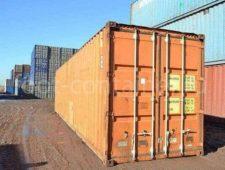 Морской контейнер 40 футов бу high cube двери