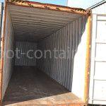 Морской контейнер 40 футов бу high cube двери открыты
