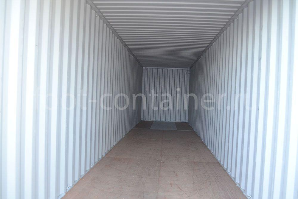 Морской контейнер 40 футов новый high cube внутри