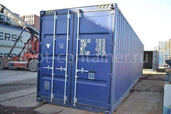 Морской контейнер 40 футов новый high cube двери