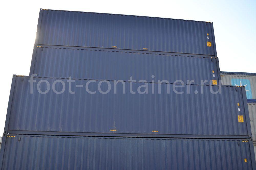 Морской контейнер 40 футов новый high cube