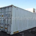 Новый контейнер 40 футов высокий с дополнительными торцевыми дверями (40′ HCDD)