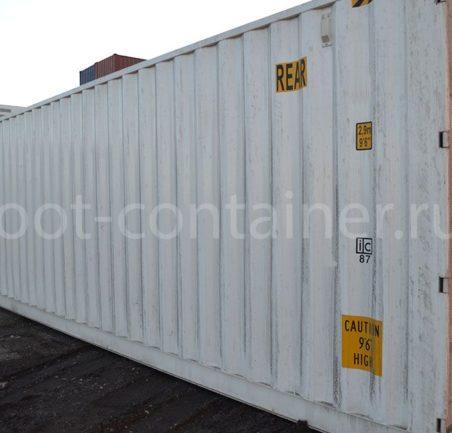 Новый контейнер 40 футов высокий с дополнительными торцевыми дверями (40′ HCDD) двери