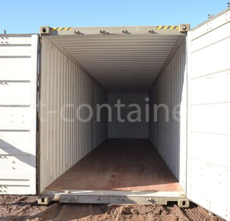 Контейнер 40 футов бу high cube pallet wide двери открыты