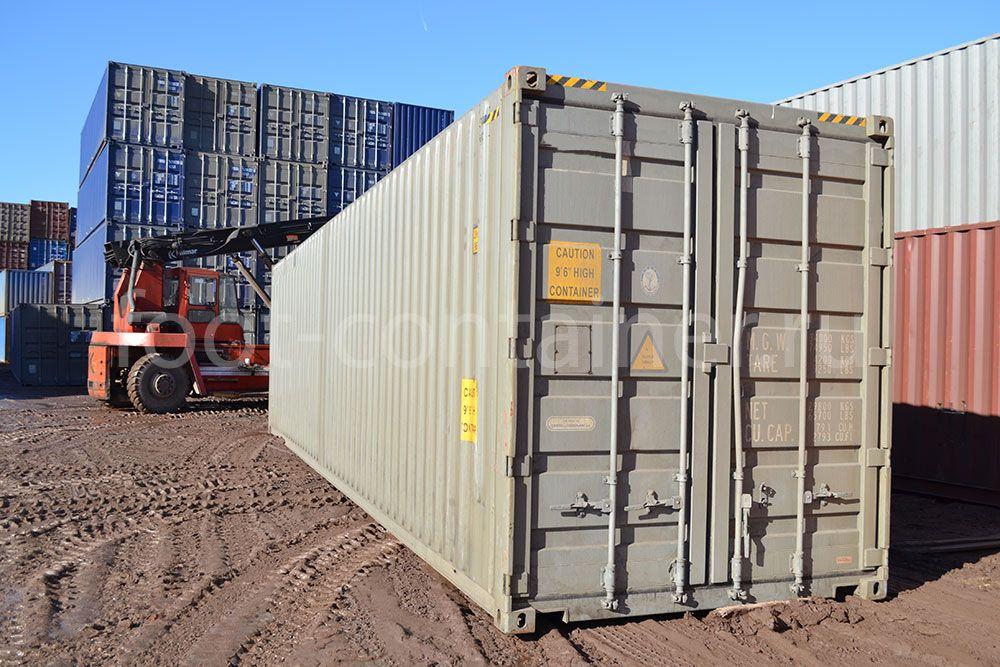 Контейнер 40 футов бу high cube pallet wide двери