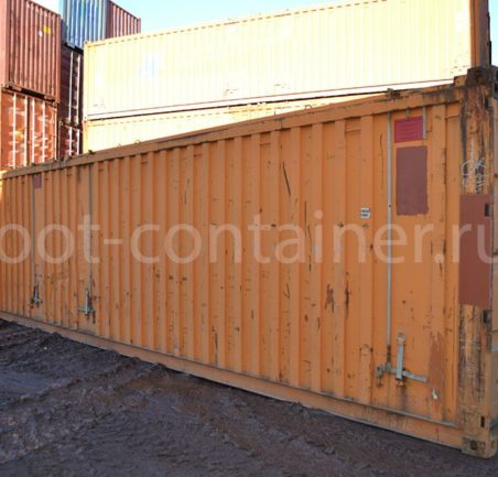 контейнер 40 футов бу hard open top сбоку