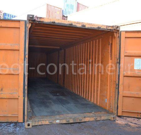 контейнер 40 футов бу hard open top двери открыты