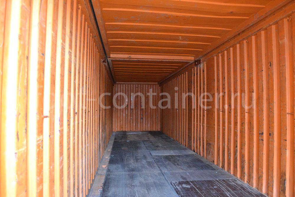 контейнер 40 футов бу hard open top внутри