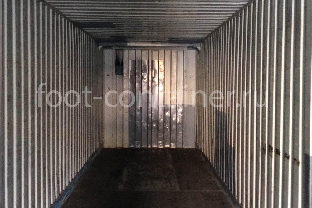 """Контейнер 45 футов высотой 2,75 м (45' HCPW 9'1"""") б/у внутри"""