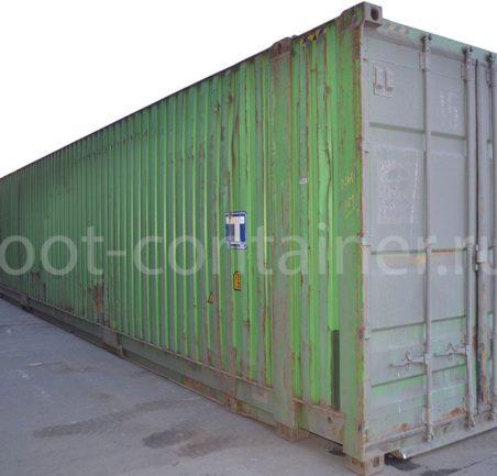 Контейнер 45 футов бу high cube pallet wide двери