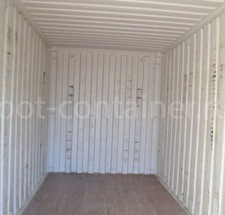 Контейнер 20 футов высокий и широкий (20′ HCPW) б/у внутри