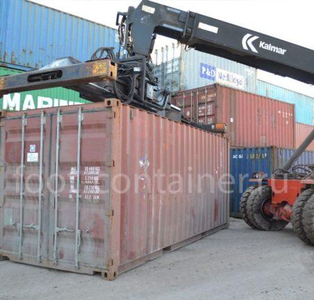 морской контейнер 20 футов бу