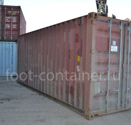 морской контейнер 20 футов новый