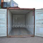 морской контейнер 20 футов новый двери открыты