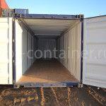 Контейнер 40 футов с жесткой съемной крышей (40' HT) новый двери открыты
