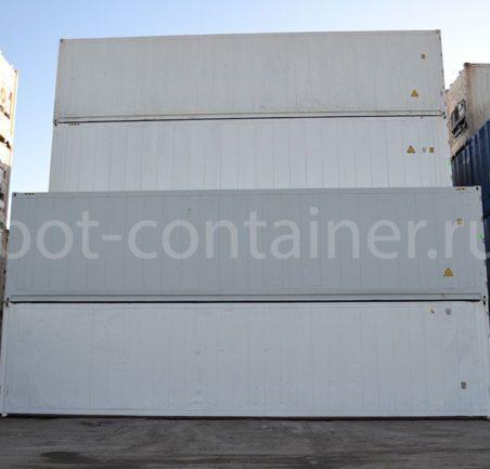 Рефконтейнер 40' RCHC ThermoKing 2007 сбоку терминал
