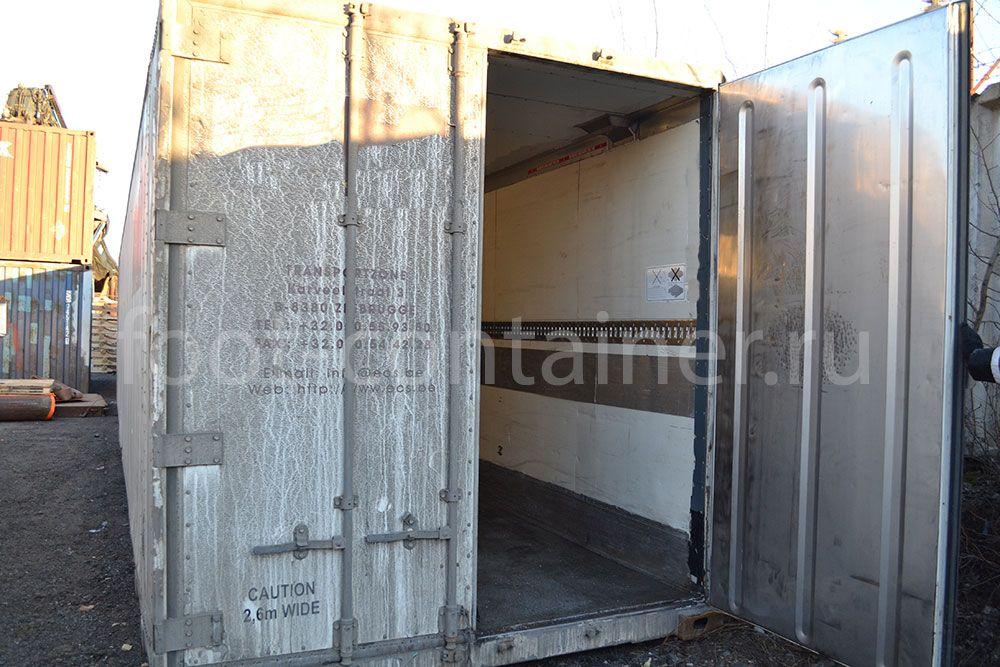 Рефконтейнер 45' RCHCPW Thermo King 1996 дверь открыта