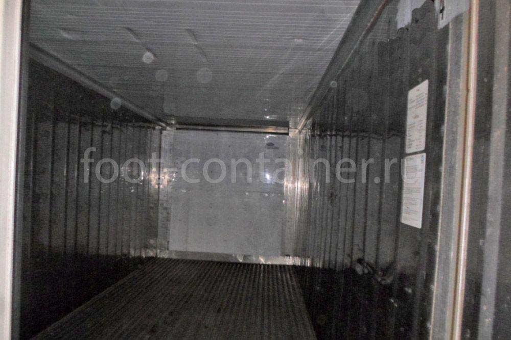 Рефконтейнер 20′ RC Carrier 1998 двери внутри
