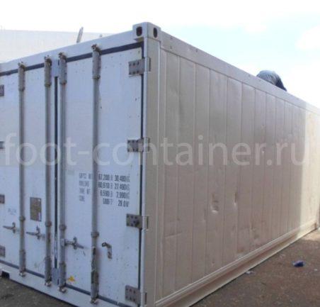 Рефконтейнер 20′ RC Carrier 1999 сбоку