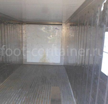 Рефконтейнер 20′ RC Carrier 1999 внутри
