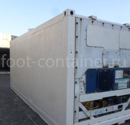Рефконтейнер 20′ RC Carrier 2000 сзади