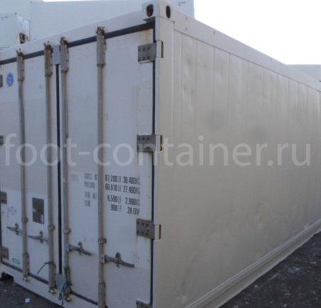 Рефконтейнер 20′ RC Carrier 2000 сбоку
